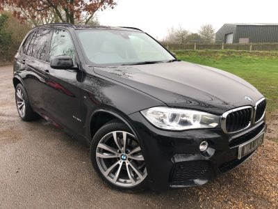 BMW X5 2.0 xDrive25d [231] M Sport 5dr Auto (Pan Roof! 7 Seats! 20in Alloys! +++) Estate Diesel Sapphire Black MetallicBMW X5 2.0 xDrive25d [231] M Sport 5dr Auto (Pan Roof! 7 Seats! 20in Alloys! +++) Estate Diesel Sapphire Black Metallic at Williams Group Maidstone