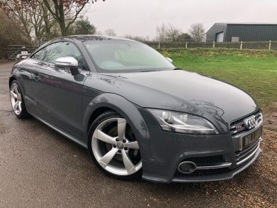 Audi TT 2.0T FSI Quattro TTS Limited Edition 2dr S Tronic (Exclusive Leather Pack! BOSE! +) Coupe Petrol Nimbus Grey Tin-TopsAudi TT 2.0T FSI Quattro TTS Limited Edition 2dr S Tronic (Exclusive Leather Pack! BOSE! +) Coupe Petrol Nimbus Grey Tin-Tops at Williams Group Maidstone
