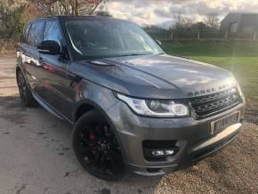 Land Rover Range Rover Sport 4.4 SDV8 Autobiography Dynamic 4X4 5dr (Meridian! Just Been Serviced! +++) SUV Diesel Corris Grey Metallic at Williams Group Ltd Maidstone
