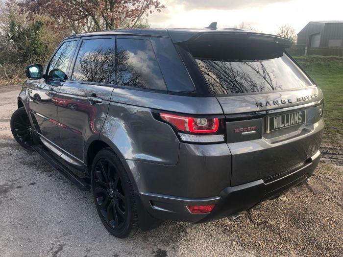 Land Rover Range Rover Sport 4.4 SDV8 Autobiography Dynamic 4X4 5dr (Meridian! Just Been Serviced! +++) SUV Diesel Corris Grey Metallic