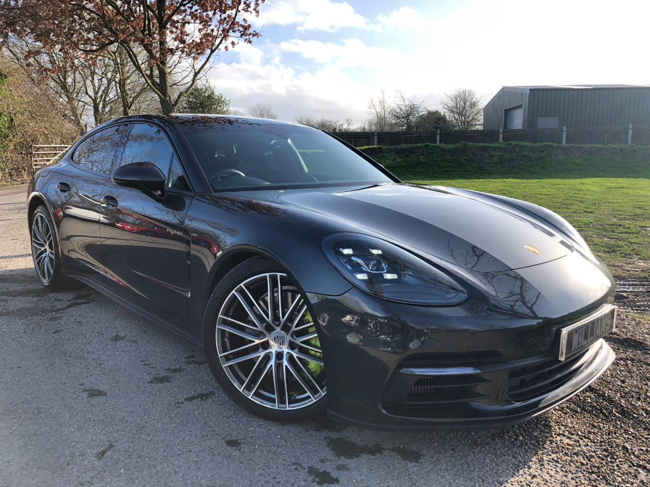 Porsche Panamera 2.9 V6 4 E-hybrid 5dr Pdk (21in 911 Turbos! Pan Roof! +++)