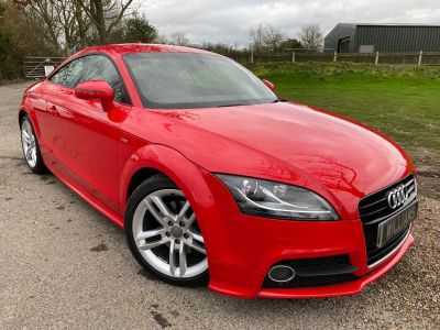 Audi TT 1.8 TFSI S line S Tronic 2dr (Sat Nav! Heated Seats! +++) Coupe Petrol Misano Red PearlAudi TT 1.8 TFSI S line S Tronic 2dr (Sat Nav! Heated Seats! +++) Coupe Petrol Misano Red Pearl at Williams Group Maidstone