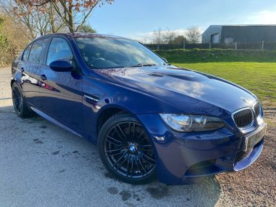 BMW M3 4.0 V8 4dr (Novillo Leather! Heated Seats! +) Saloon Petrol Interlagos Blue MetallicBMW M3 4.0 V8 4dr (Novillo Leather! Heated Seats! +) Saloon Petrol Interlagos Blue Metallic at Williams Group Maidstone