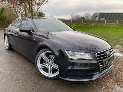 Audi A7 3.0 TDI Quattro S Line 5dr S Tronic (Tech Pack! Full Audi SH! +++) Hatchback Diesel Oolong Grey MetallicAudi A7 3.0 TDI Quattro S Line 5dr S Tronic (Tech Pack! Full Audi SH! +++) Hatchback Diesel Oolong Grey Metallic at Williams Group Maidstone