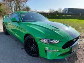 Ford Mustang 5.0 V8 GT 2dr Auto (B+O! Cooled Seats! SYNC 3! +++) Coupe Petrol Need For Green at Williams Group Ltd Maidstone