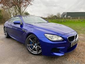 BMW M6 4.4 M6 2dr DCT (LED Headlights! Surround View! +) Coupe Petrol San Merino Blue Metallic at Williams Group Ltd Maidstone