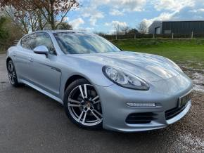 Porsche Panamera 3.0 [300] V6 Diesel 4dr Tiptronic S (20in Turbo II! Sunroof! ++) Hatchback Diesel Rhodium Silver Metallic at Williams Group Ltd Maidstone