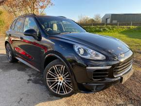 Porsche Cayenne 3.0 TD Tiptronic 4WD (s/s) 5dr (21in Alloys! PASM! Pan Roof! +) SUV Diesel Jet Black Metallic at Williams Group Ltd Maidstone