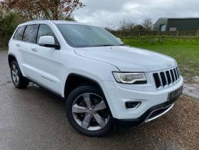 Jeep Grand Cherokee 3.0 CRD Limited Plus 5dr Auto (Low Miles! Privacy Glass! +++) Estate Diesel Bright White Clearcoat at Williams Group Ltd Maidstone