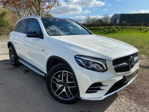 Mercedes-Benz GLC 3.0 GLC 43 4Matic Premium 5dr 9G-Tronic (Driving Assistance Pack! ++) Estate Petrol Designo Diamond White Metallic at Williams Group Ltd Maidstone