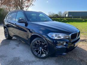 BMW X5 3.0 xDrive30d M Sport 5dr Auto [7 Seat] (LED Headlights! Pan Roof! ++) Estate Diesel Carbon Black Metallic at Williams Group Ltd Maidstone