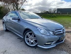 Mercedes-Benz E Class 2.1 E220 CDI BlueEFFICIENCY Sport 2dr Tip Auto (Nav! Heated Seats! Bi-Xenons! +) Coupe Diesel Palladium Silver Metallic at Williams Group Ltd Maidstone