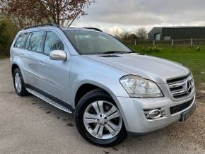 Mercedes-Benz GL Class 4.0 GL420 CDI 5dr Tip Auto (Bi-Xenon Headlights! Sunroof! +) Estate Diesel Iridium Silver Metallic at Williams Group Ltd Maidstone