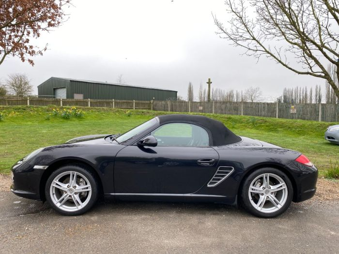 Porsche Boxster 2.9 2dr PDK (18in Alloys! Just Been Serviced! +++) Convertible Petrol Basalt Black Metallic
