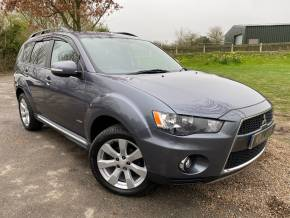 Mitsubishi Outlander 2.2 DI-D GX3 5dr SST (Full Leather! Bluetooth! ++) Estate Diesel Graphite Grey Metallic at Williams Group Ltd Maidstone