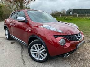 Nissan Juke 1.6 DiG-T Acenta 5dr [Sport Pack] (Bluetooth! Rear Sensors! ++) Hatchback Petrol Force Red Metallic at Williams Group Ltd Maidstone