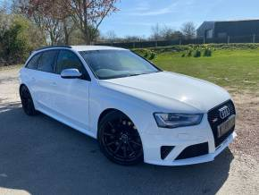 Audi RS4 4.2 FSI Quattro 5dr S Tronic Estate Petrol White at Williams Group Ltd Maidstone