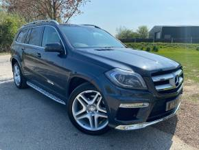 Mercedes-Benz GL Class 3.0 GL350 BlueTEC AMG Sport 5dr Tip Auto (Full Leather! Pan Roof! +++) Estate Diesel Tenorite Grey Metallic at Williams Group Ltd Maidstone