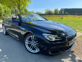 BMW 6 Series 3.0 640d M Sport 2dr Auto (20in Alloys! Heads-Up! +++) Convertible Diesel Carbon Black at Williams Group Ltd Maidstone