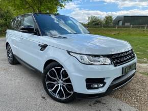 Land Rover Range Rover Sport 3.0 SDV6 [306] HSE Dynamic 5dr Auto (Pan Roof! Meridian! TV! +++) Estate Diesel Glacier White at Williams Group Ltd Maidstone
