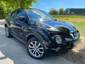 Nissan Juke 1.6 Tekna 5dr Xtronic (Nav! Heated Seats! +++) Hatchback Petrol Merlot Black at Williams Group Ltd Maidstone
