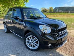Mini Countryman 2.0 Cooper S D ALL4 5dr Auto (17in Alloys! DAB! +++) Hatchback Diesel Carbon Black Metallic at Williams Group Ltd Maidstone