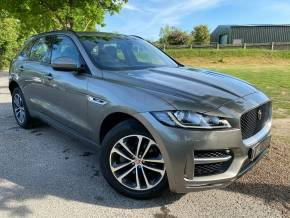 Jaguar F-pace 2.0d R-Sport 5dr Auto AWD (Meridian! 19in Alloys! +++) Estate Diesel Silicon Silver Metallic at Williams Group Ltd Maidstone