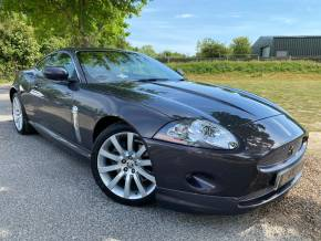 Jaguar XK 4.2 V8 2dr Auto (Low Miles! 1 Owner! 11 Stamps! +) Coupe Petrol Ultraviolet Metallic Grey at Williams Group Ltd Maidstone