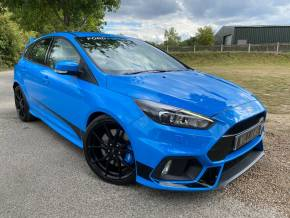 Ford Focus Rs 2.3 EcoBoost 5dr (19in Aloys! SONY DAB Nav! ++) Hatchback Petrol Nitrous Blue Metallic at Williams Group Ltd Maidstone