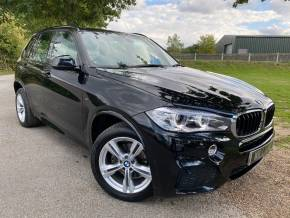 BMW X5 2.0 sDrive25d [231] M Sport 5dr Auto (Park Assist! Rear Camera! +++) Estate Diesel Sapphire Black Metallic at Williams Group Ltd Maidstone