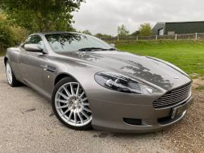 Aston Martin DB9 5.9 V12 2dr Touchtronic Auto (Sat Nav! Low Miles! +++) Coupe Petrol Tungsten Silver Metallic at Williams Group Ltd Maidstone