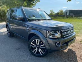 Land Rover Discovery 3.0 SDV6 HSE Luxury 5dr Auto (Meridian Sound! TV! FSH! +++) Estate Diesel Corris Grey Metallic at Williams Group Ltd Maidstone