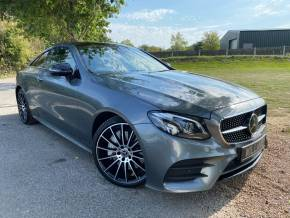 Mercedes-Benz E Class 3.0 E400 4Matic AMG Line Premium Plus 2dr 9G-Tronic (Assistance Pack! 20in Alloys! +++) Coupe Petrol Senenite Grey Metallic at Williams Group Ltd Maidstone