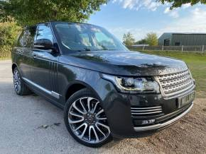 Land Rover Range Rover 3.0 TD V6 Vogue SE Auto 4WD (s/s) 5dr (Electric Towbar! Pan Roof! +++) SUV Diesel Carpanthian Grey Premium Metallic at Williams Group Ltd Maidstone
