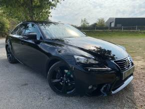 Lexus IS 2.5 300h Sport 4dr CVT Auto (Full Lexus SH! Heated Seats! +) Saloon Petrol / Electric Hybrid Black at Williams Group Ltd Maidstone