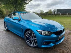 BMW 4 Series 3.0 435d xDrive M Sport 2dr Auto [Professional Media] (Harman Kardon! Digital Cockpit! +) Coupe Diesel Snapper Rocks Blue Metallic at Williams Group Ltd Maidstone