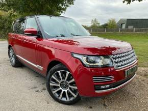 Land Rover Range Rover 4.4 SDV8 Autobiography 4dr Auto (1 Owner! Full Land Rover SH! +) Estate Diesel Firenze Red Metallic at Williams Group Ltd Maidstone