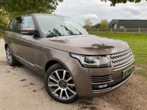 Land Rover Range Rover 4.4 SDV8 Vogue SE 4dr Auto (21in Alloys! Pan Roof! +++) Estate Diesel Nara Bronze Metallic at Williams Group Ltd Maidstone
