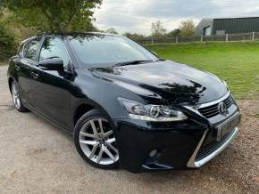 Lexus CT 200h 1.8 Executive Edition 5dr CVT Auto (1 Owner! Rear Camera! +++) Hatchback Petrol / Electric Hybrid Graphite Black Metallic at Williams Group Ltd Maidstone