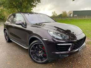 Porsche Cayenne 4.8 Turbo 5dr Tiptronic S (21in Alloys! Pan Roof! +++) Estate Petrol Purple Amethyst Special Metallic at Williams Group Ltd Maidstone