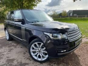 Land Rover Range Rover 4.4 SDV8 Autobiography 4dr Auto (Huge Spec! Privacy Glass! +++) Estate Diesel Barossa Black Premium Metallic at Williams Group Ltd Maidstone