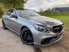 Mercedes-Benz E Class 5.5 E63 4dr Auto (700bhp! Carbon Kit! Pan Roof! +) Saloon Petrol Palladium Silver Metallic at Williams Group Ltd Maidstone