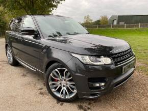 Land Rover Range Rover Sport 3.0 SDV6 [306] Autobiography Dyn 5dr Auto [7 seat] (7 Seats! Stealth Pack! +++) Estate Diesel Carpanthian Grey Premium Metallic at Williams Group Ltd Maidstone