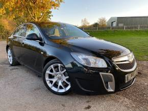 Vauxhall Insignia 2.8T V6 4X4 VXR Nav 5dr (FSH! 19in Alloys! Cruise! +++) Hatchback Petrol Carbon Flash Black Metallic at Williams Group Ltd Maidstone