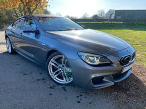 BMW 6 Series 3.0 640d M Sport 4dr Auto (20in Alloys! HUD! H/Kardon! ++) Coupe Diesel Space Grey Metallic at Williams Group Ltd Maidstone