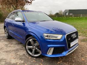 Audi RS Q3 2.5T FSI Quattro 5dr S Tronic (Tech Pack! Pan Roof! BOSE! +++) Estate Petrol Sepang Blue Pearl at Williams Group Ltd Maidstone