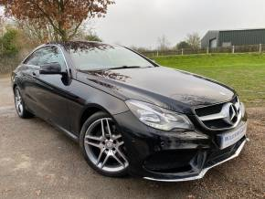 Mercedes-Benz E Class 2.1 E220 CDI AMG Sport 2dr 7G-Tronic (Full Service History! Nav! ++) Coupe Diesel Obsidian Black Metallic at Williams Group Ltd Maidstone