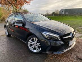 Mercedes-Benz A Class 1.5 A180d Sport Premium 5dr Auto (Park Assist! Rear Camera! +++) Hatchback Diesel Cosmos Black Metallic at Williams Group Ltd Maidstone
