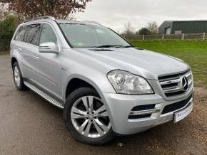 Mercedes-Benz GL Class 3.0 GL350 CDI BlueEFFICIENCY [265] 5dr Tip Auto (Luxury Seat Pack! Bluetooth! ++) Estate Diesel Iridium Silver Metallic at Williams Group Ltd Maidstone