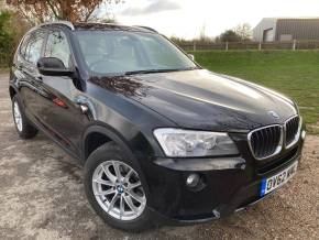 BMW X3 2.0 xDrive20d SE 5dr Step Auto (Pan Roof! Rear Camera! +++) Estate Diesel Sapphire Black Metallic at Williams Group Ltd Maidstone